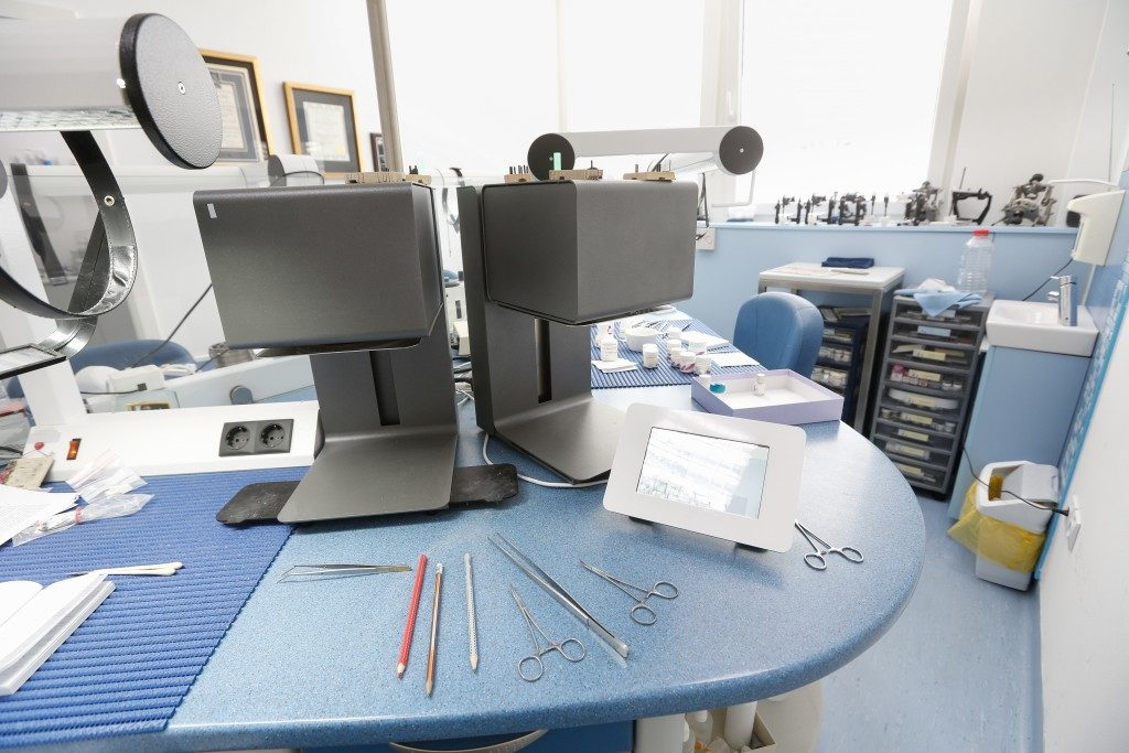 Hi-tech dental laboratory