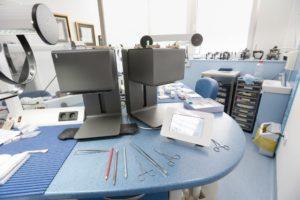 Hi-tech dental laboratory