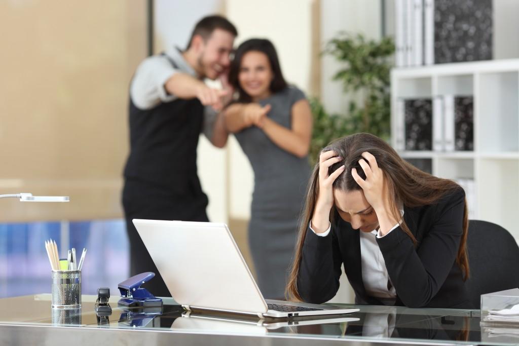 employees gossiping